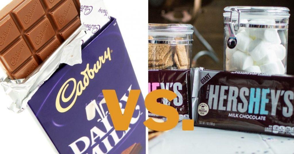 Cadbury Vs Hershey