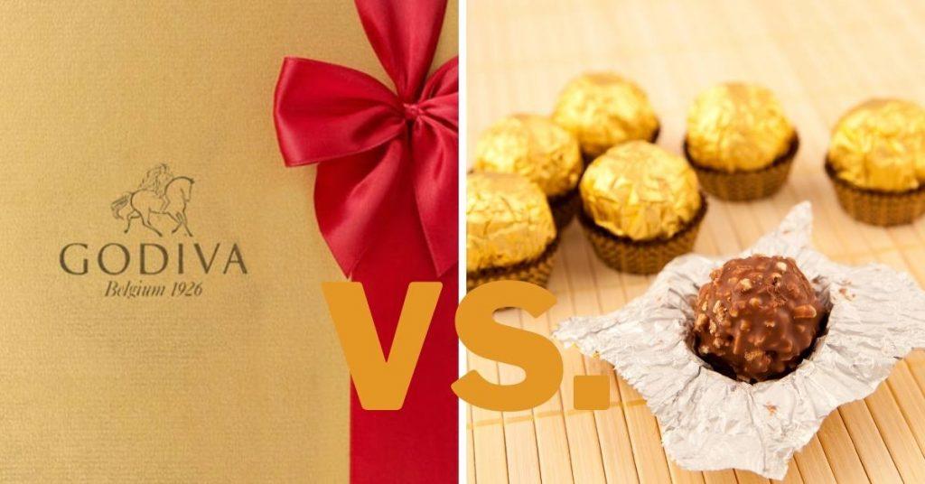 Godiva Vs Ferrero Rocher