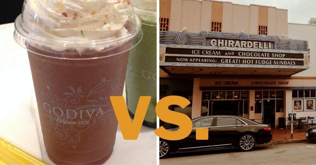 Godiva vs Ghirardelli