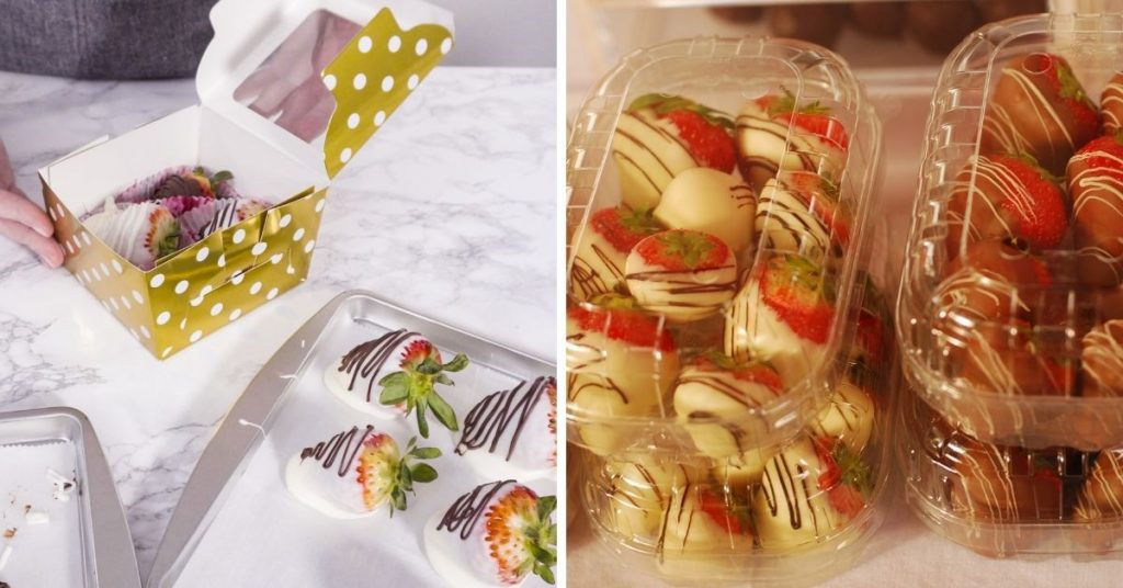 How Much to Charge for Chocolate Covered Strawberries packaging
