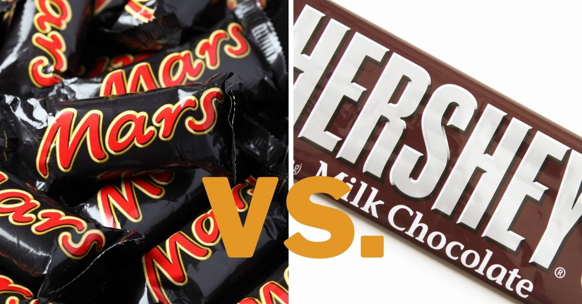 Mars Chocolate Vs. Hershey: The Story Behind Their Differences!