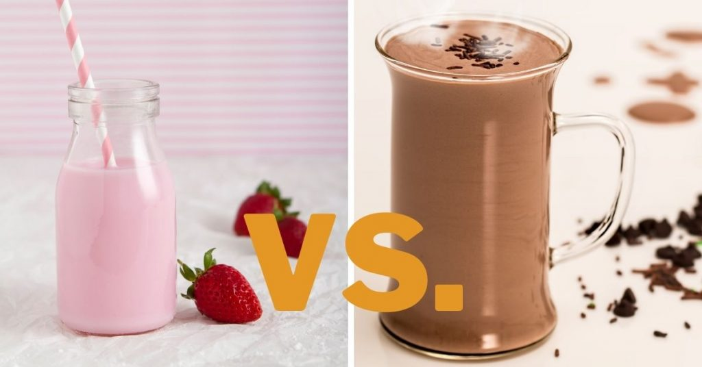 Strawberry Milk Vs Chocolate Milk