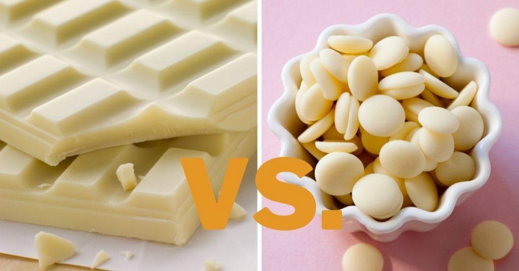White Chocolate vs White Confectionery