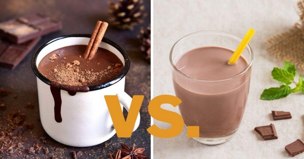 hot chocolate vs chocolate milk
