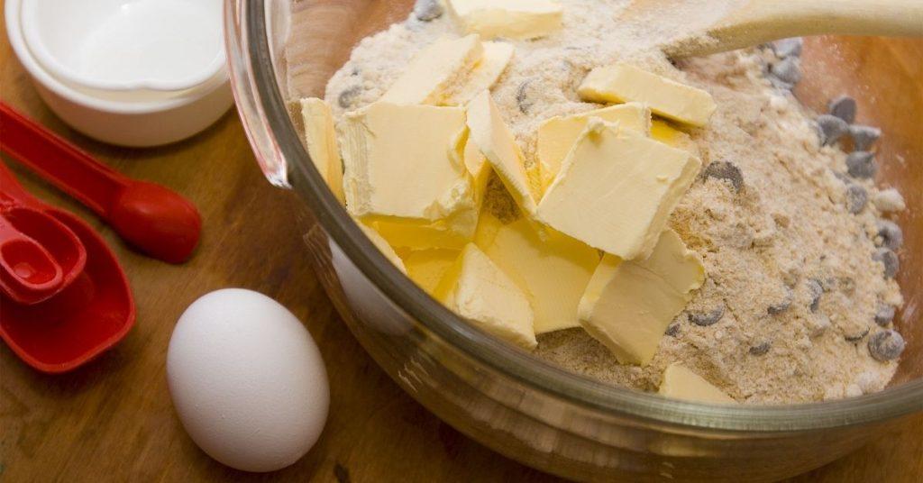 how to make betty crocker chocolate chip cookie mix better BUTTER