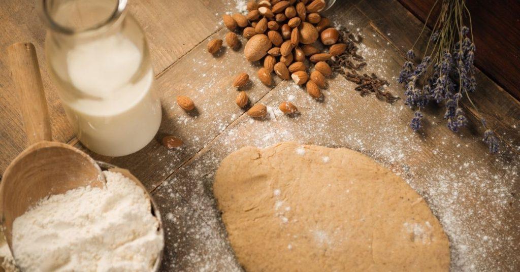milk in cookie dough