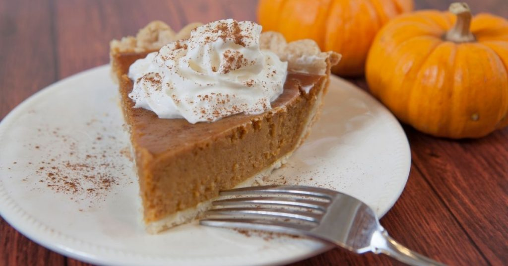 the Right Way to Eat Pumpkin Pie